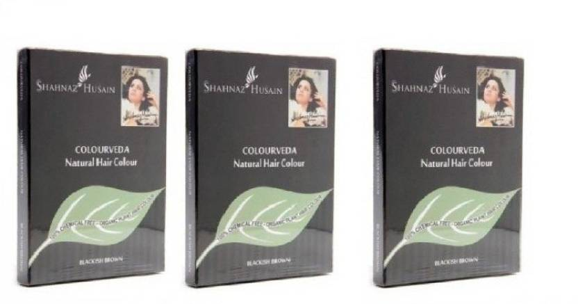 Shahnaz Husain Colourveda  Hair Color