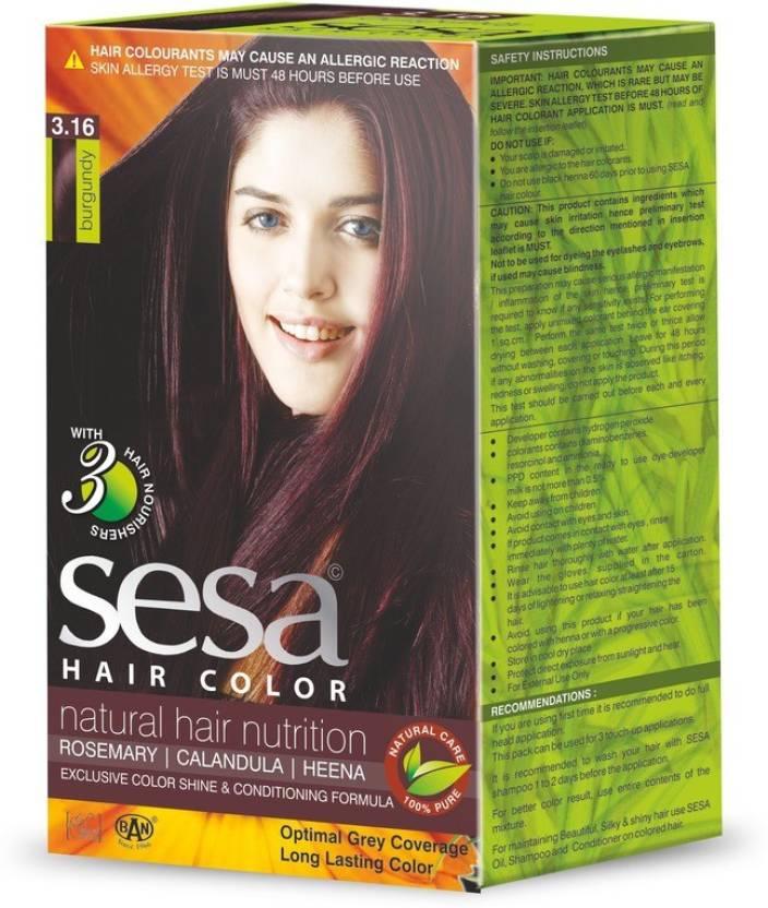 Sesa Hair Color