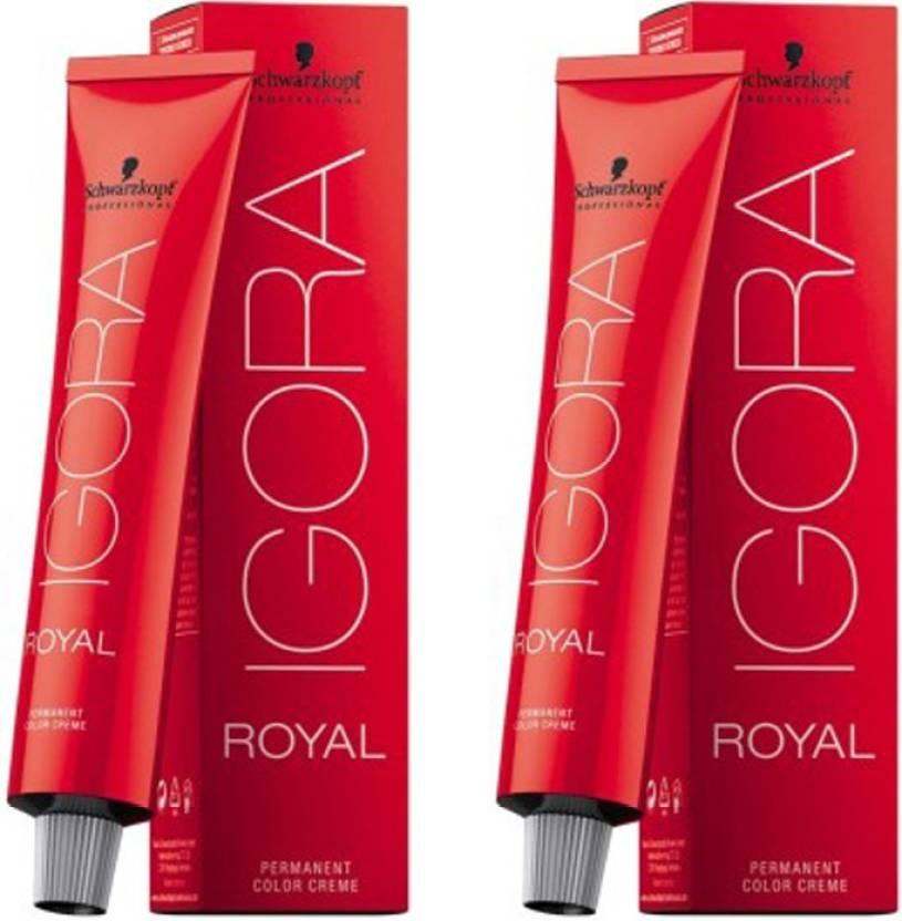 d49252d9ad Schwarzkopf IGORA Royal Pack of 2 Hair Color - Price in India, Buy ...
