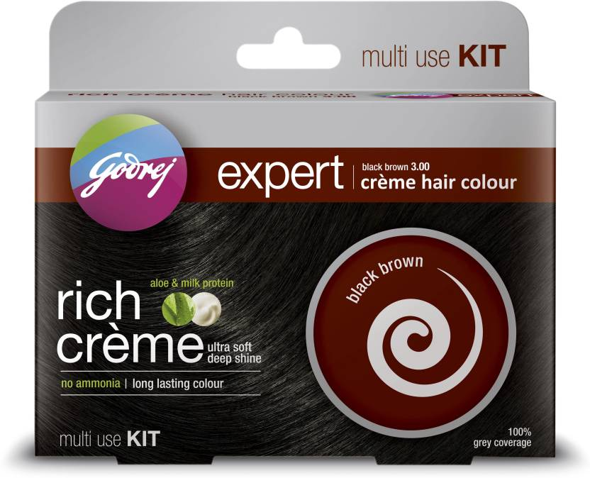 Godrej Expert Rich Creme - Multi Use Kit Hair Color