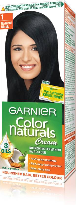 Garnier Color Naturals Regular Shade 1 Hair Color  Price In India Buy Garni