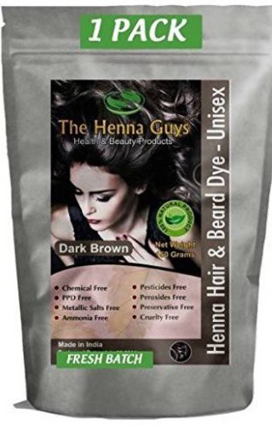 The Henna Guys Inc Henna Hair And Beard Color Dye 150 Grams