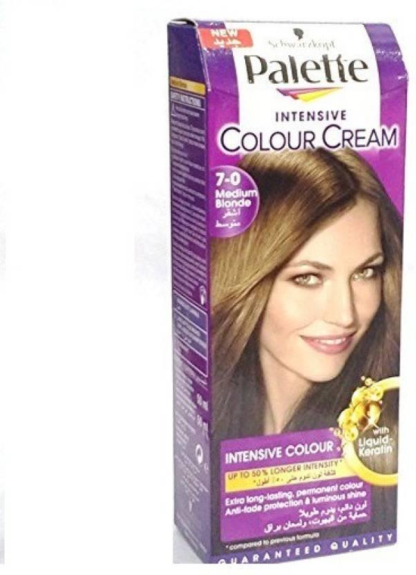 Schwarzkopf Palette Intensive Cream Hair Color Price In India Buy