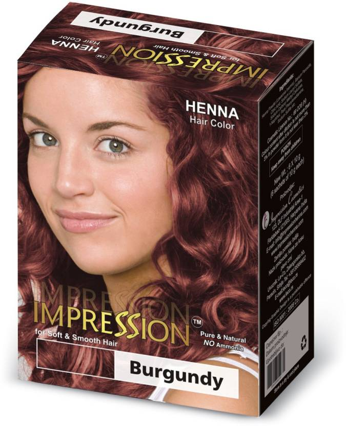 Impression Henna Based Hair Color - Price in India, Buy Impression ...