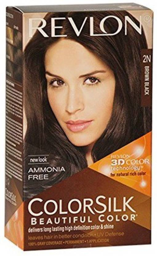 Revlon Colorsilk With 3d Technology 2n Hair Color Price In India