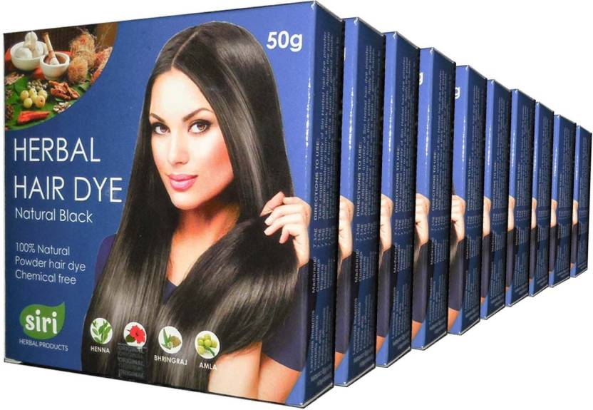 Siri Herbal Products 50g Combo of 10 Hair Color