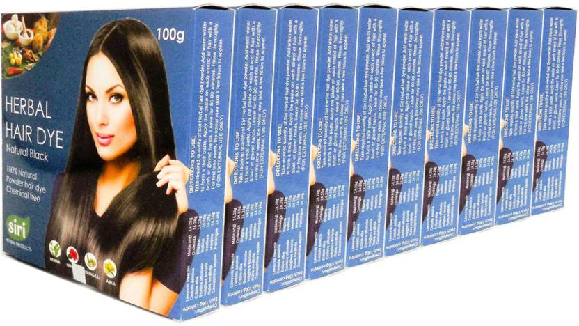 Siri Herbal Products 100g Combo of 10 Hair Color