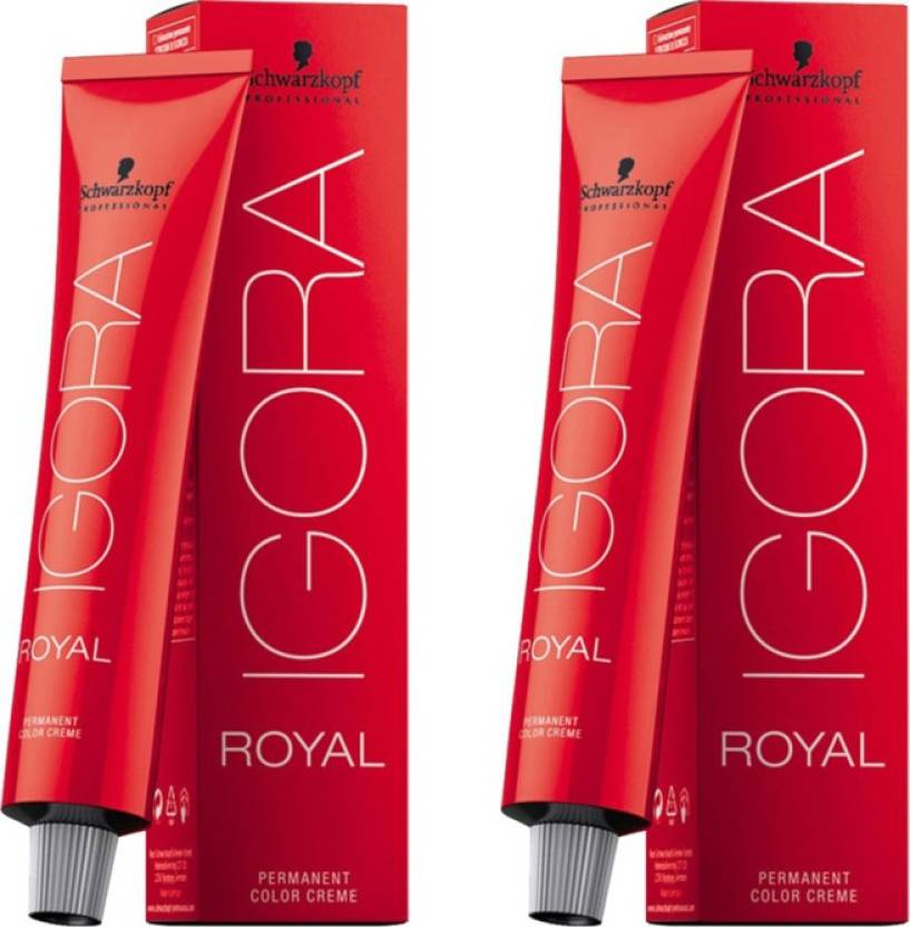 Schwarzkopf Igora Royal Cream Pack of 2 Hair Color