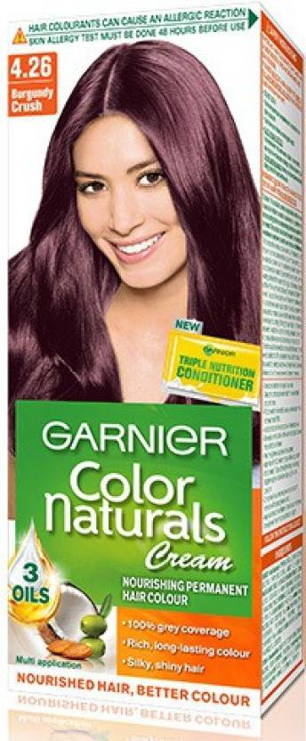Garnier Natural Cream Very Berru Collection - 4.26 Hair Color