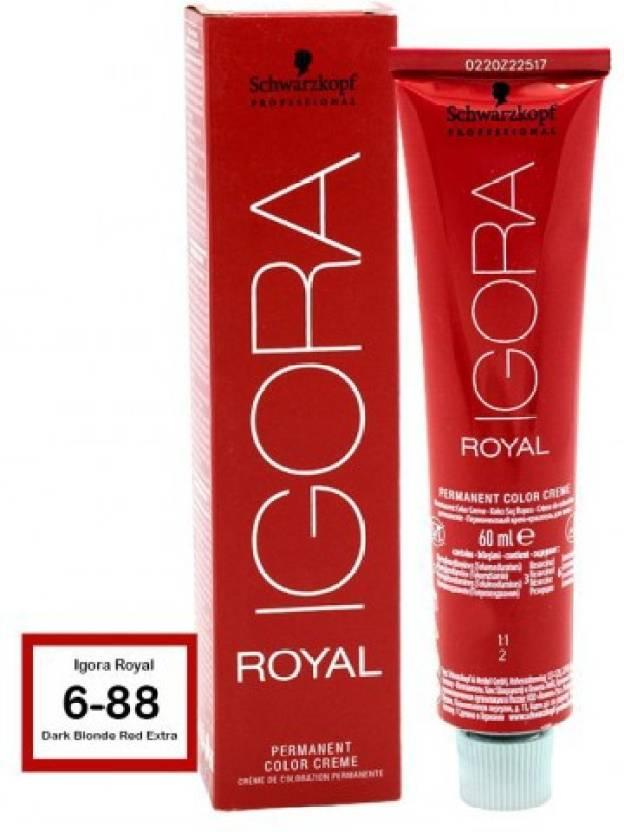Schwarzkopf Igora Royal Cream Dark Blonde Red Extra 6 88 Hair Color