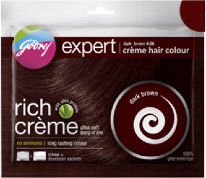 Godrej Expert Rich Creme Hair Colour - Pack of 4 Hair Color