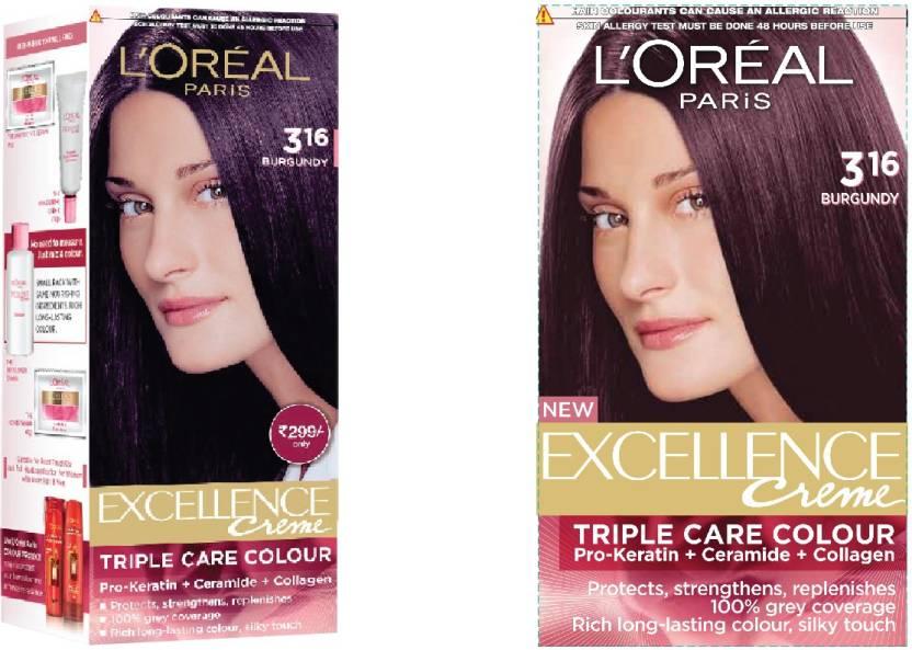 L'Oreal Paris Excellence Creme Legends Collection Hair Color