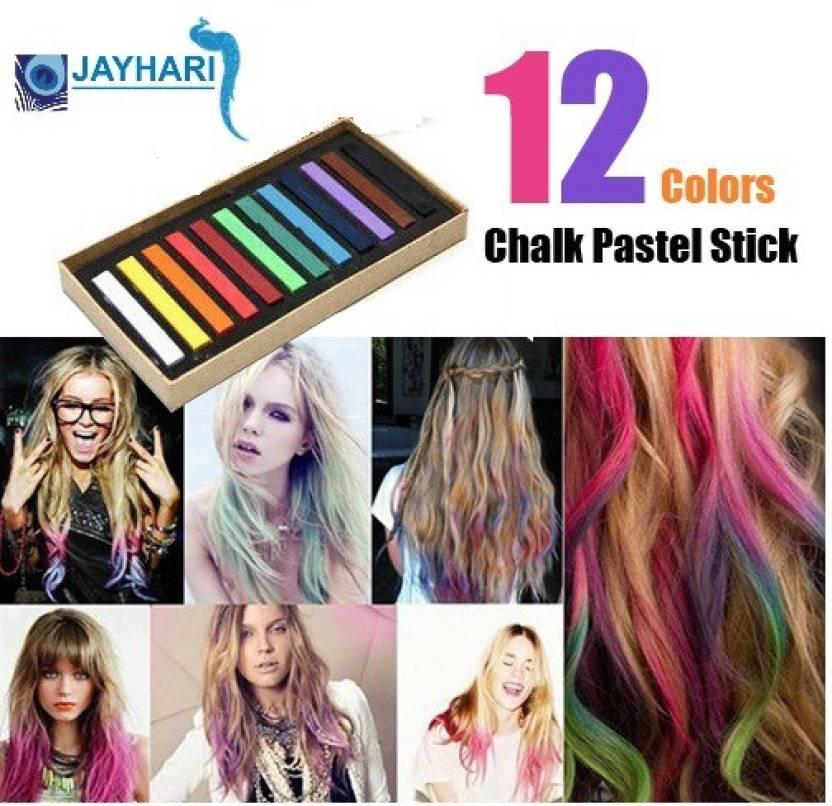 Jay Hari Temporary Colors Hair Chalk Pastel Stick Hair Color Price