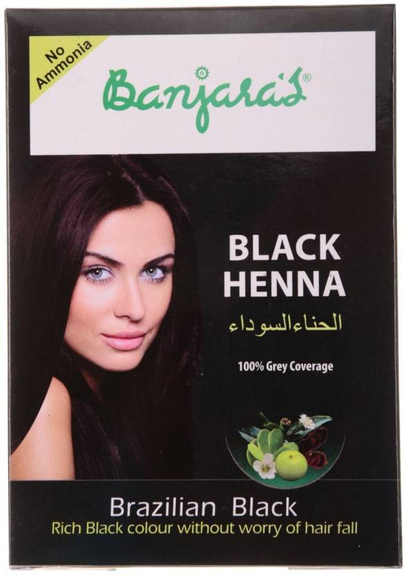 Banjara S Black Henna Hair Color Price In India Buy Banjara S