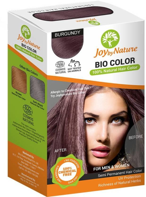 Joybynature Organic Hair Color Price In India Buy Joybynature