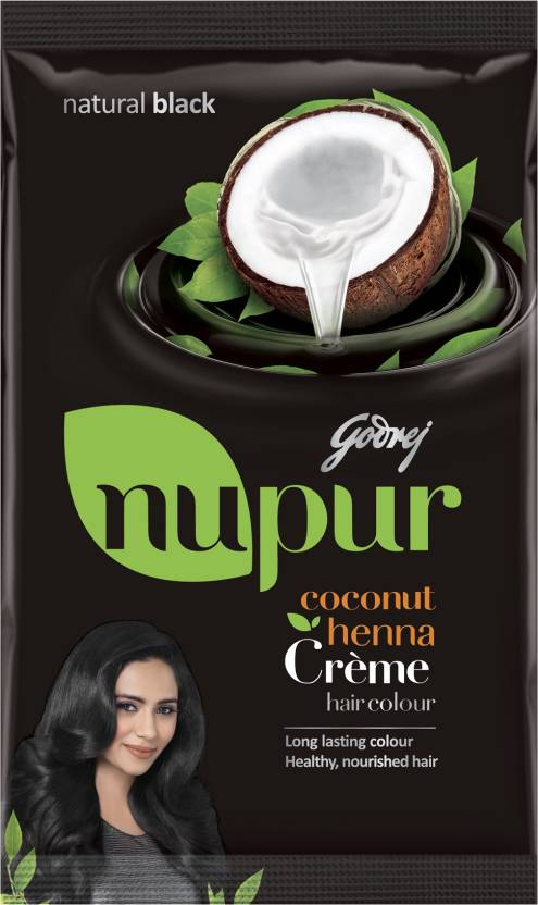 a6f1c11879056 Godrej Nupur Coconut Henna Creme Hair Color - Price in India, Buy ...