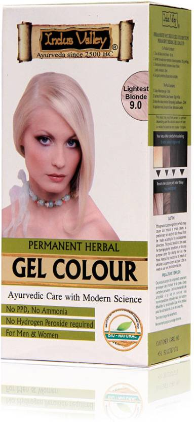 Indus Valley Permanent Herbal Hair Color