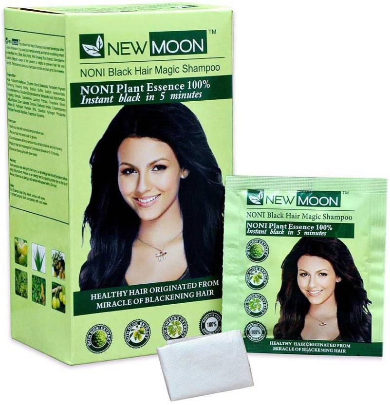 New Moon Pack Of 20 Pcs 15 Ml Noni Magic Shampoo Hair Color