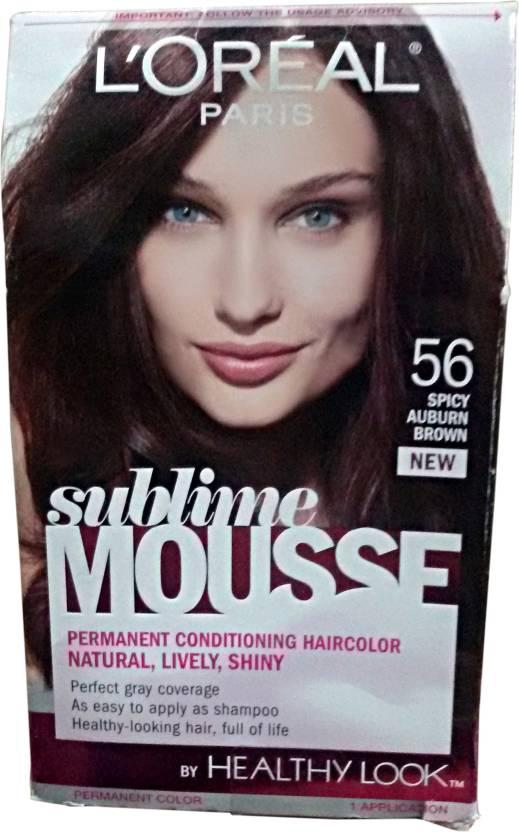 L\'Oreal Paris Sublime Mousse Permanent Conditioning Hair Color ...