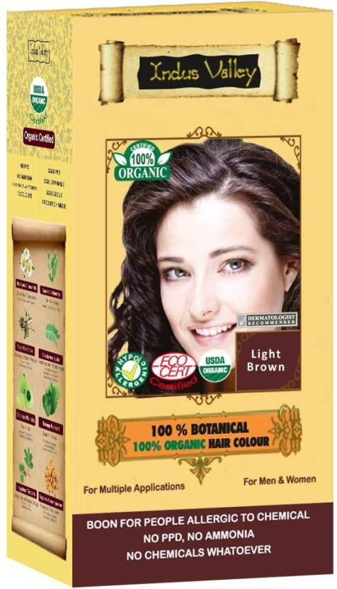 Indus Valley 100% Botanical  Hair Color