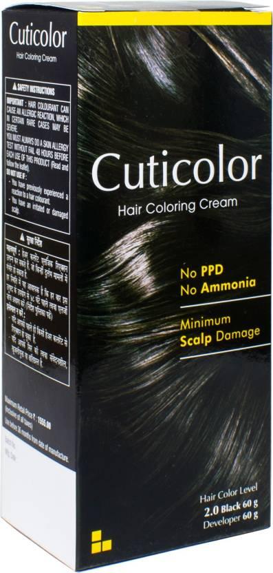 Cuticolor Permanent Hair Color - Price in India, Buy Cuticolor ...