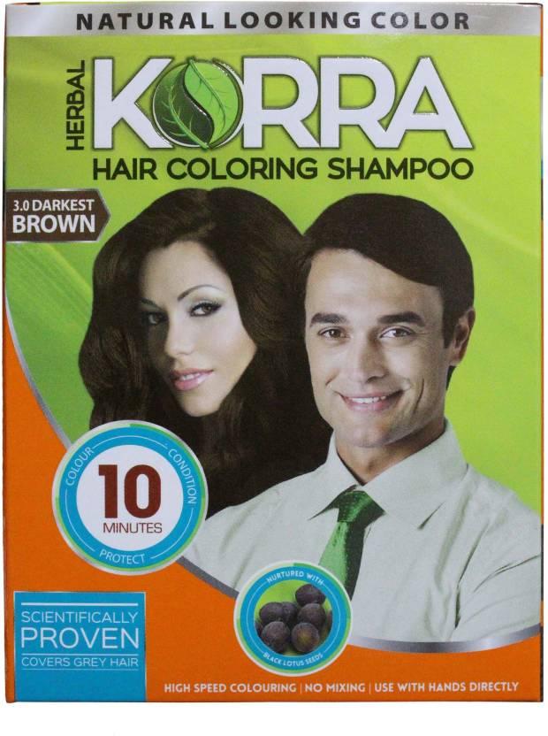 Korra Shampoo Hair Color Price In India Buy Korra Shampoo Hair