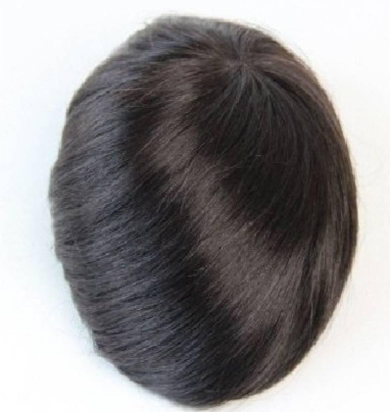 Avani Wigs Monofilament Mens Toupee Gents Wig 9x7 Hair Extension