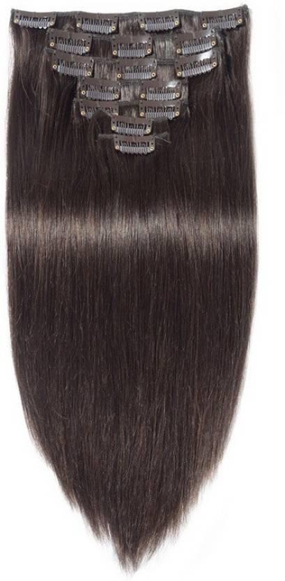 Majik Beautiful 7 Pcs 220 Grams Hair Extension Price In India Buy