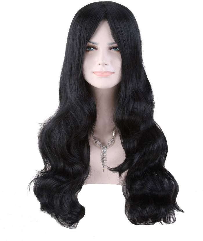 Cool2day Sexy Women S Long Wavy Party Wig+Wig Cap Hair Extension Price in  India - Buy Cool2day Sexy Women S Long Wavy Party Wig+Wig Cap Hair Extension  ... 93c23a32d