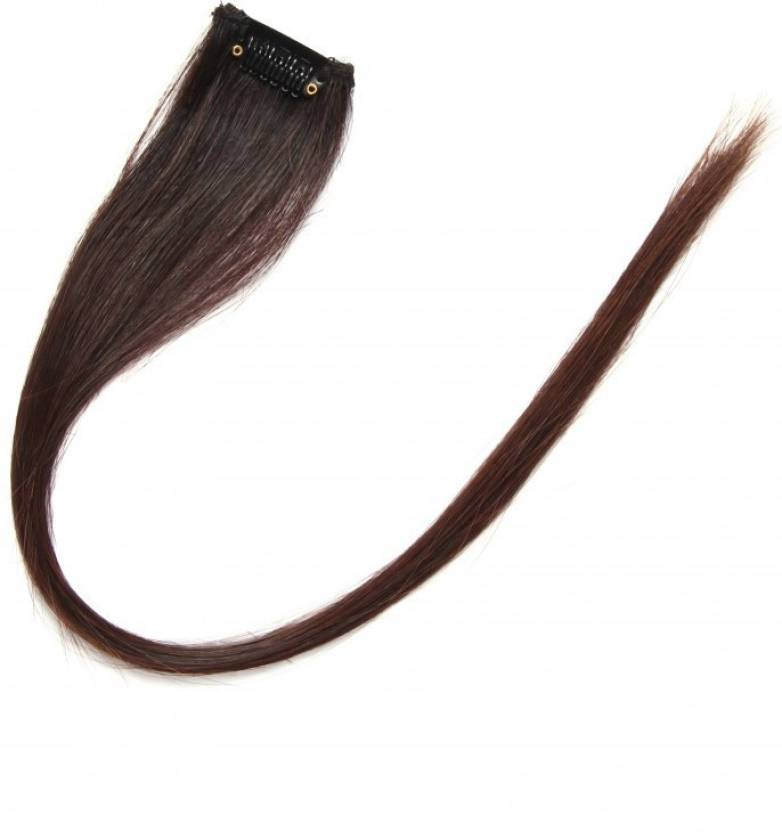 Krome Natural Black Single Clip In Remy Human Hair 24 Hair