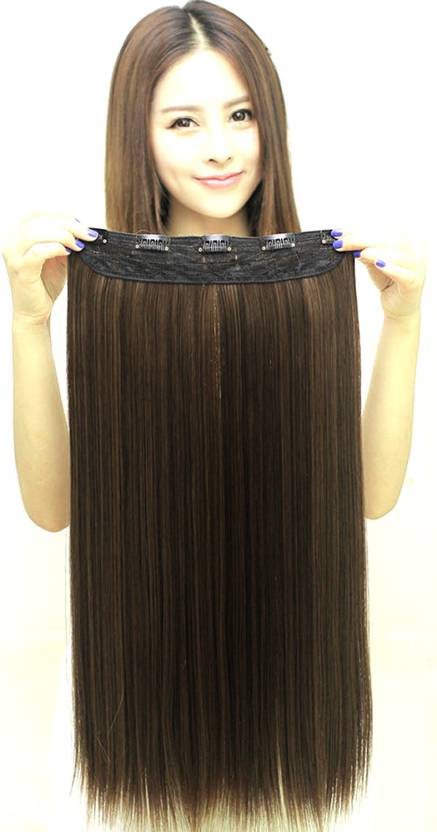 Ritzkart Straight Synthetic Highlighting Hair Extension Price In