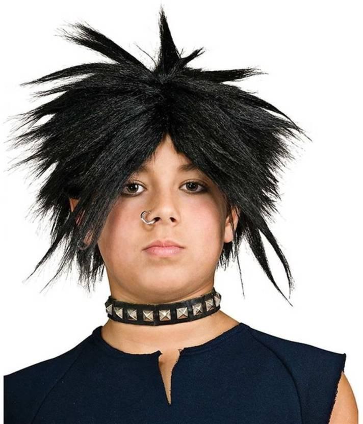 Rubies Spiker Wig Kids Black Hair Extension Price In India Buy
