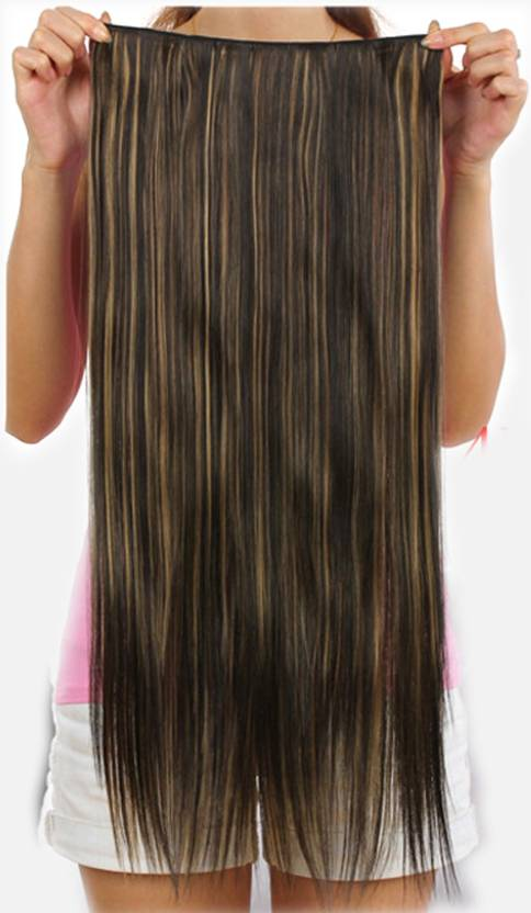 Ritzkart Golden Highlighting Strait Hair Hair Extension Price In