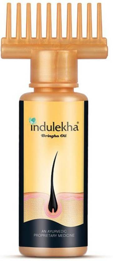 Indulekha Bringha Oil: Ayurvedic Solution for Healthy Scalp Skin and Hair Hair Oil