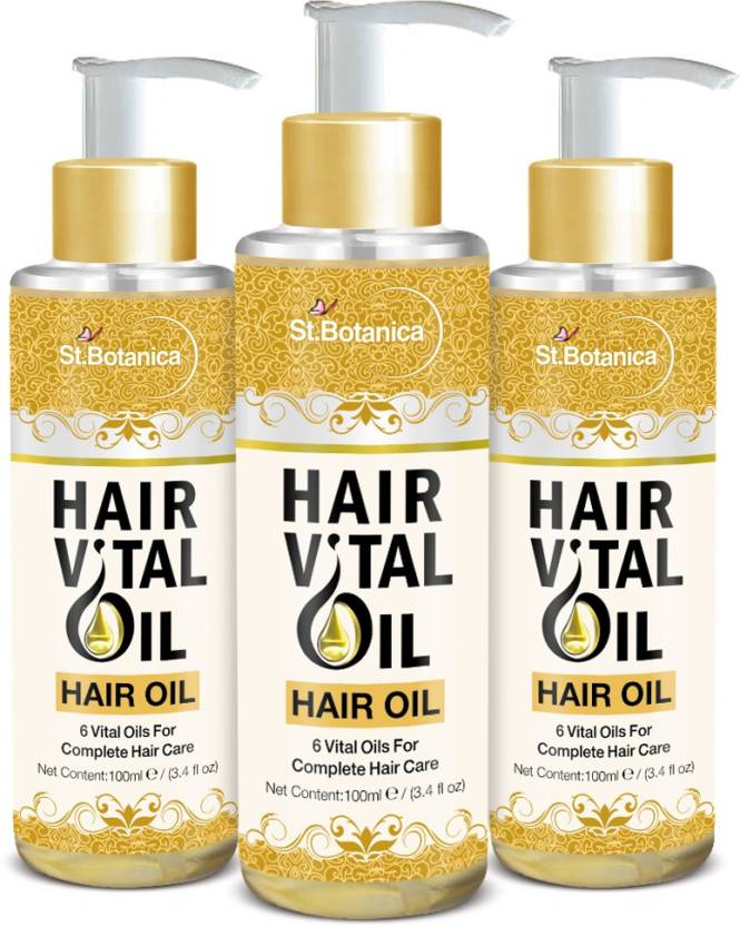St Botanica Hair Vital Oil (With Olive, Castor, Almond