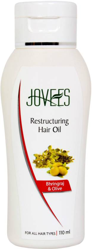 Jovees Bhringraj & Olive Intensive Restructuring Hair Oil