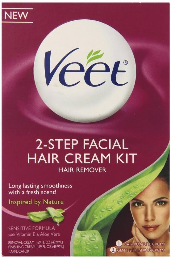 Cream for facial hair