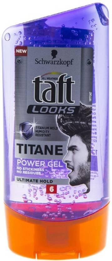 schwarzkopf taft looks titane power gel ultimate hold 6 hair styler