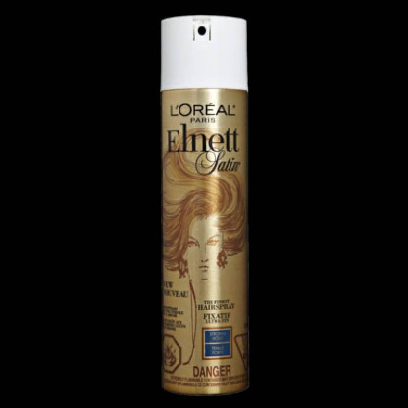 Loreal Paris Elnett Satin Hair Spray Strong Hold Hair Styler