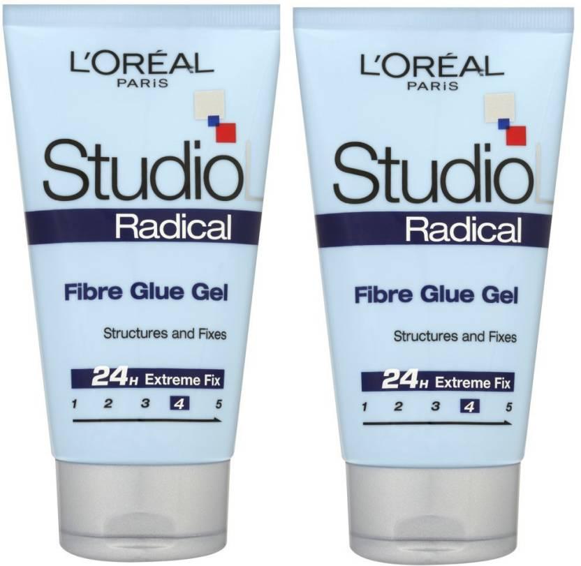 8d83adbc241 L'Oreal Paris Studio Line Radical Fibre Glue Gel Structures And Fixes  Design Gel (Pack Of 2) Hair Styler - Price in India, Buy L'Oreal Paris  Studio Line ...