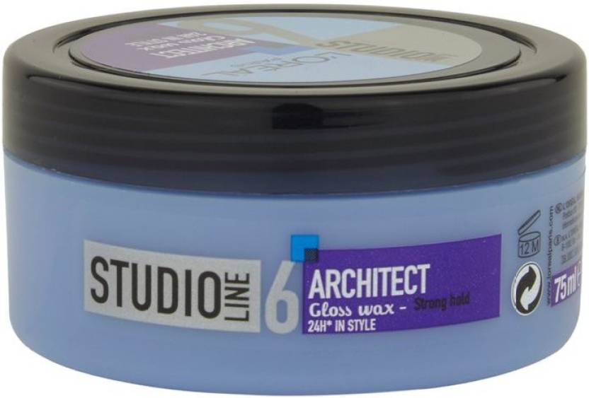 l oreal paris studio line 6 architect gloss wax 24 h in style