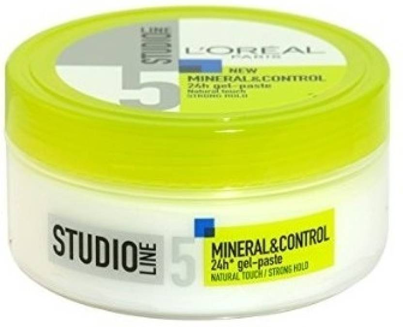 Paste For Hair Styling L'oreal Paris Studio Line 5 New Mineral & Control 24H Gelpaste .