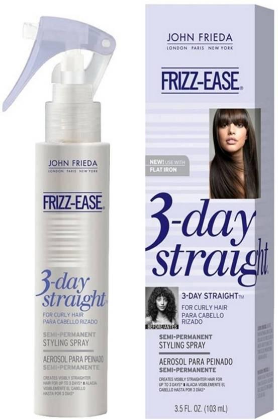 John Frieda Frizz-ease 3‑day Straight Semi‑permanent Styling Spray Hair Styler