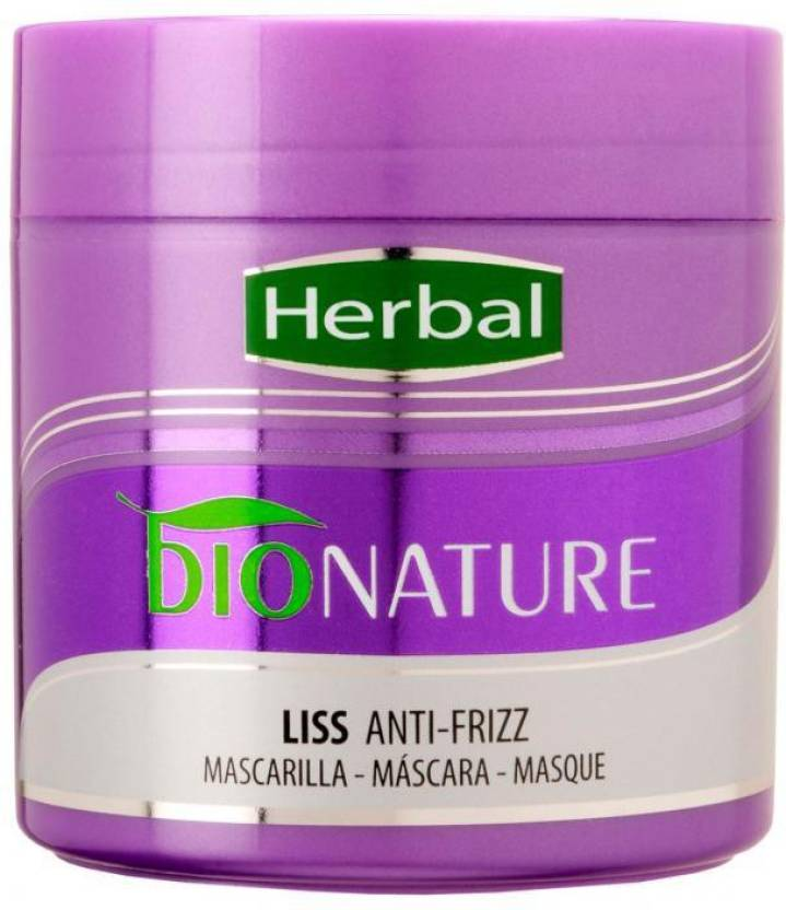 Herbal Bionature New Hair Mask Total Repair Liss Anti Frizz Price