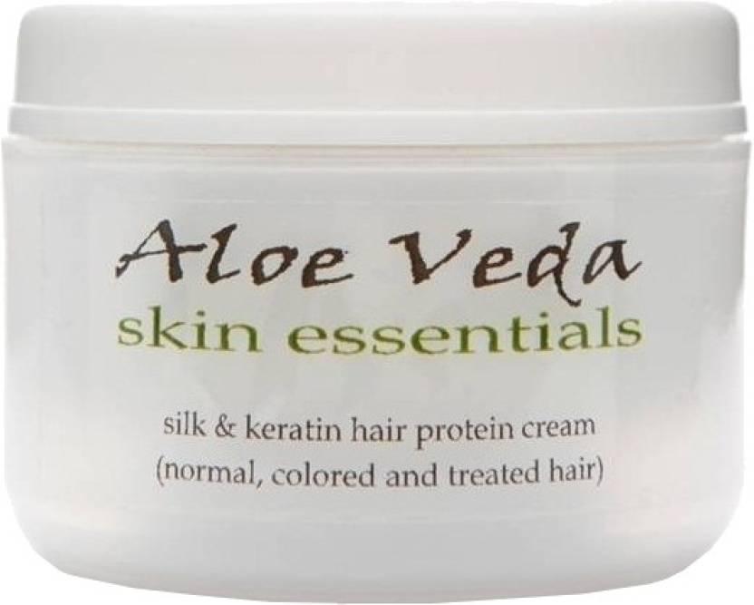Aloe Veda Silk & Keratin Hair Protein Cream