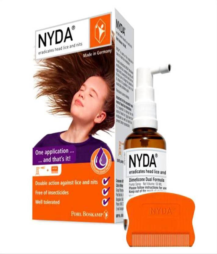 Nyda Lice Treatment Spray Price In India Buy Nyda Lice Treatment