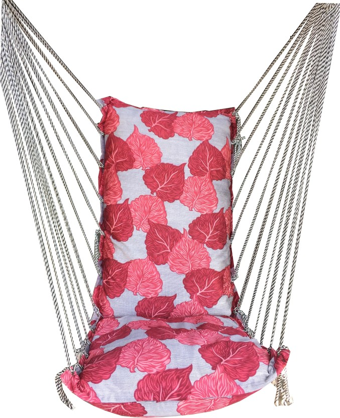kaushalendra hanging hammock cotton nylon hammock kaushalendra hanging hammock cotton nylon hammock price in india      rh   flipkart