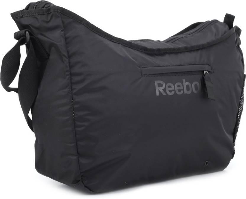 Buy REEBOK Shoulder Bag Black Online   Best Price in India ... f4c94d3a1a8ea