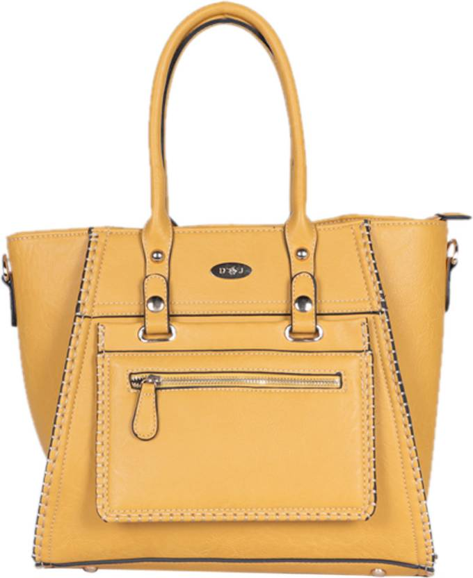 535dddcc89 Buy David Jones Hand-held Bag YELLOW-1353 Online @ Best Price in ...