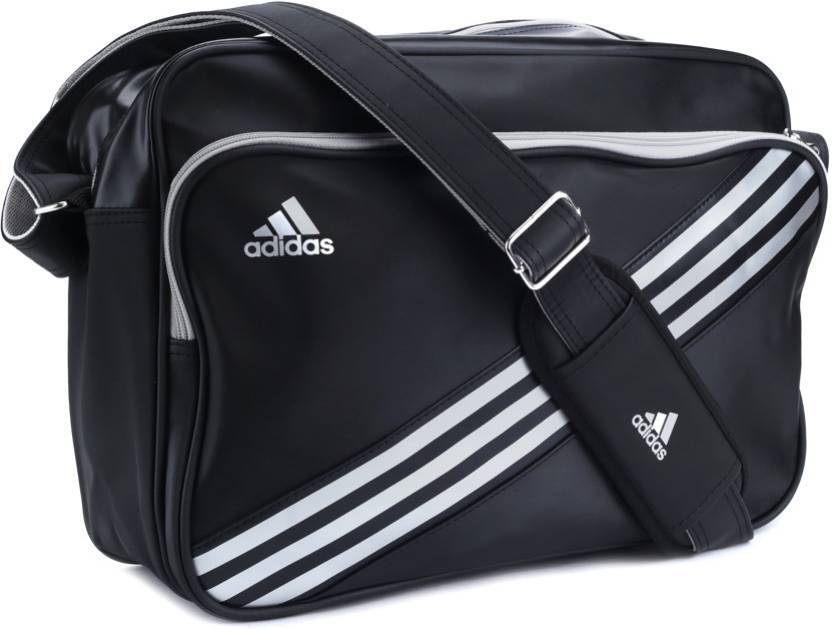 9fa3928b09 Buy ADIDAS Messenger Bag Black and Silver Online   Best Price in ...